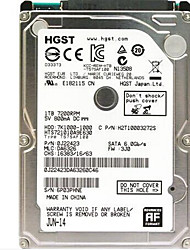 HGST HTS721010A9E630 500GB Laptop / Notebook disco rígido 7200 SATA 3.0 (6Gb / s) 32MB esconderijo 2.5 polegadas