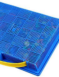 Quebra-cabeças Kit Faça Você Mesmo Quebra-Cabeça Blocos de construção Brinquedos Faça Você Mesmo Circular Plástico Arco-ÍrisBrinquedos