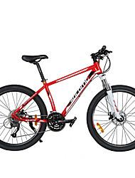 Geländerad Radsport 27 Geschwindigkeit 26 Zoll/700CC 60mm Unisex Erwachsener Scheibenbremsen Federgabel Aluminiumgemisch Rahmen gewöhnlich