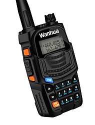 Wanhua UV6S Walkie Talkie VHF 136-174MHZ UHF 400-520MHZ 128CH 8W Two Way Radio