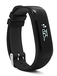 P1 Smart BraceletWater Resistant/Waterproof Calories Burned Pedometers Health Care Sports Heart Rate Monitor Touch Screen Information