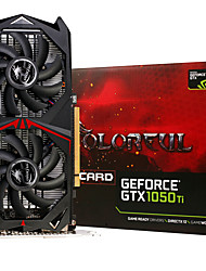 colorful® carte graphique vidéo gtx1050ti-4gd5 1328-1442mhz / 7000mhz 4gb / 128bit gddr5
