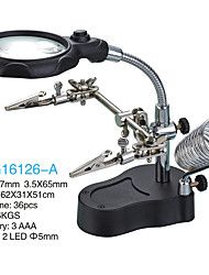 3.5/12X65 mm Magnifiers/Magnifier Glasses High Definition LED Desktop Jewelry General use Reading Watch Repair Equipment & ToolsFully