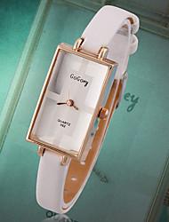 Men's Women's Unisex Fashion Watch Wrist watch Quartz Genuine Leather Band Vintage Casual Multi-Colored Brand