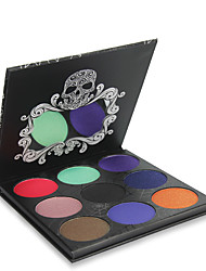 Lidschattenpalette Trocken Lidschatten-Palette Puder NormalHalloween Make-up Party Make-up Feen Makeup Cateye Makeup Smokey Makeup Alltag
