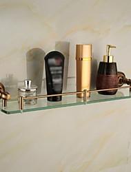 Полка для душа / Гаджет для ванной Сплав цинка Крепление на стену 20.5*4.2*5.9 inch Сплав цинка / Алюминий Античный
