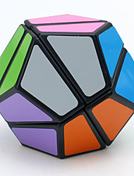 LanLan Magic Cube Megaminx Speed Smooth Speed Cube Black Smooth Sticker / Anti-pop ABS Toys