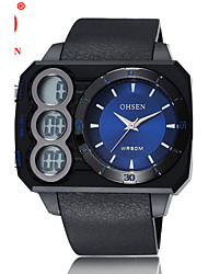 OHSEN Sports Leisure Digital Waterproof Imported PC21 Movement Electronic Watch
