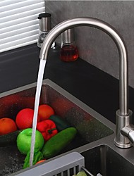 Contemporary Rotatable Single Handle One Hole for  Stainless Steel  Kitchen Faucet