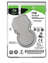 Seagate 1TB Laptop / Notebook unidad de disco duro 5400rpm SATA 3.0 (6 Gb / s) 128MB CacheST1000LM048