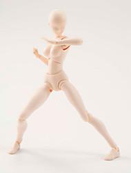 6 le style kun corps corps chan pâle des femmes de couleur de peau 15cm figma action pvc bandai chiffre de figma