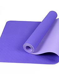 Yoga Mats Ecológico Sem Cheiros 6 mm Roxa Azul Real Roxo Escuro Azul Claro Other