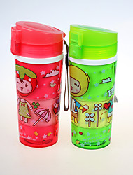 Eco Friendly Joyshaker Water Bottle with String for Child 380ml