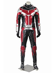 Cosplay Costumes Halloween Props Party Costume Masquerade Super Heroes Cosplay Movie Cosplay Red Silver StripedCoat Pants Gloves More