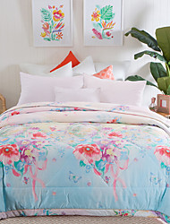Multi Color Comforter Material Queen 1pc Bedspread