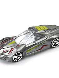 Race Car Toys Car Toys 1:64 Metal Plastic Textile Silver Model & Building Toy