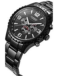 Men's Women's Unisex Sport Watch Fashion Watch Wrist watch Quartz Calendar Alloy Band Casual Multi-Colored