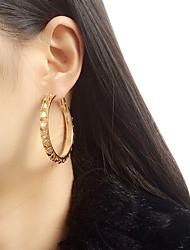 Hoop Earrings Earrings Set Earrings Jewelry Women Wedding Party Casual Alloy 1 pair Gold