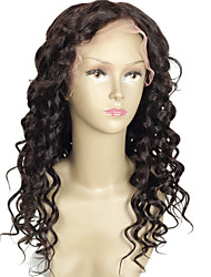 8a parte dianteira do laço do cabelo brasileiro humano perucas fio natural para as mulheres negras cabelo humano onda 8-26'body rendas