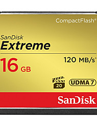Sandisk 16GB Compact Flash CF Card memory card Extreme 800X UDMA7