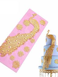 выпечке Mold Животный принт Для торта силиконовый Сделай-сам 3D Высокое качество Антипригарное покрытие Праздник