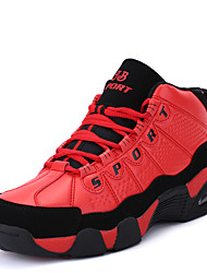 New Men Sport Shoes Youth Trend Sneakers PU Shoes Athletic Casual Flat Heel Lace-up