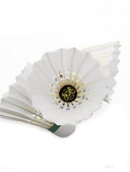 Badminton Balles(Blanc,Plume d'oie) -Durable