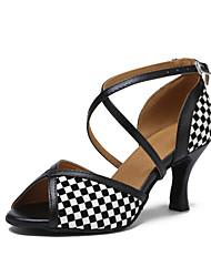 Non Customizable Women's Dance Shoes Sparkling Glitter Sparkling Glitter Latin / Jazz Sandals / Heels Stiletto HeelBeginner /