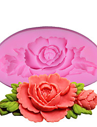 Roses Silicone Cake Mold Baking Tools Kitchen Accessories Fondant Chocolate Mould Sugarcraft Decoration Tools
