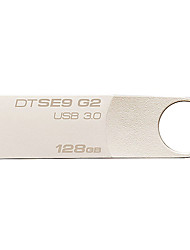 Kingston dtse9g2 128gb usb 3.0 flash drive digitais datatraveler metal