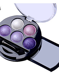 5 Lidschattenpalette Lidschatten-Palette Puder Alltag Make-up Halloween Make-up Party Make-up Feen Makeup Cateye Makeup Smokey Makeup