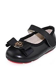 Mädchen-Loafers & Slip-Ons-Lässig-PUKomfort-Schwarz Rot