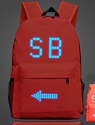 Sports Casual Outdoor Backpack Unisex Polyester Blue Green Red Black