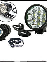 XIE SHENG 3 Mode 6000 Lumens Front Lights/Headlamps 8.4V 6600mAh battery pack Waterproof/Rechargeable/Impact Resistant