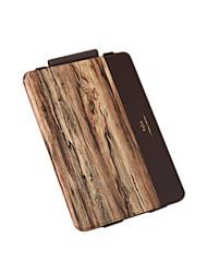 For Flip Pattern Case Full Body Case Wood Grain Hard PU Leather for Apple iPad Pro 9.7''
