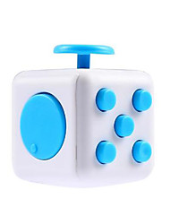 Toys Smooth Speed Cube Fidget Cube Magic Cube Green Blue Yellow ABS