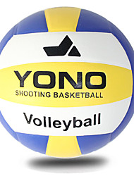 Volleybold Volley Ball Høj Elasticitet Holdbar Indendørs Udendørs Ydeevne Øvelse Fornøjelse Sport PU Unisex