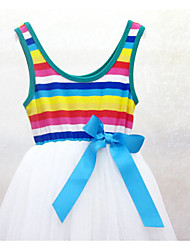 Girl's Casual/Daily Dress,Cotton Summer Sleeveless