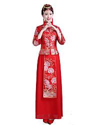 Classic/Traditional Lolita Vintage Inspired Elegant Cosplay Lolita Dress Print Dress For Terylene