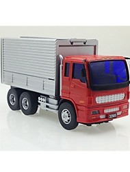 Truck Pull Back Vehicles 1:25 Metal Plastic Gray