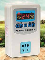 Aquarium Chauffages Thermomètres Non toxique & Sans Goût 100W220V