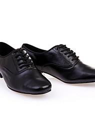 Sapatos de Dança(Preto) -Masculino-Personalizável-Balé Latina