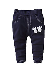 Boy Casual/Daily Sports Print Pants-Cotton Spring Fall