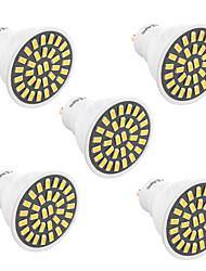 YWXLight® 5Pcs High Bright 7W GU10 LED Spotlight 32 SMD 5733 500-700 lm Warm White / Cool White AC 110V/ AC 220V