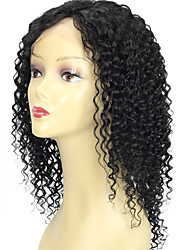Peruvian Human Hair 13*6 Lace Front Curly Wigs  Glueless Lace Front Human Hair Wigs Long Curly Wig With Baby Hair