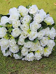 Hochzeitsblumen Rundförmig Rosen Sträuße Hochzeit Partei / Abend Seide ca.32cm