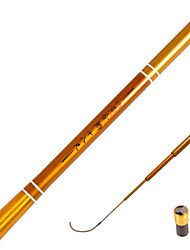 Fishing Rod Telespin Rod Carbon steel General Fishing Rod Gold