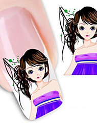 Water Transfer Printing Cartoon Pattern Nail Stickers