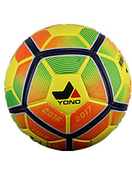 Football(Jaune Vert Rouge,Polyuréthane)Haute élasticité Durable