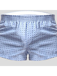 Homme Sportif Points Polka Boxers-Rayonne